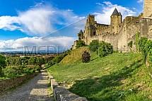 Carcassonne, hrad