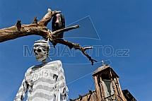 Calico ghost town, město duchů, Kalifornie, USA