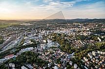 Liberec, město, letecky
