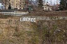 Liberec, nápis, Perštýn