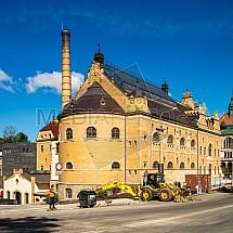 Lázně, galerie, Liberec, rekonstrukce.