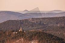 Rozhledny Tanvaldský špičák a Bramberk, Jizerské hory