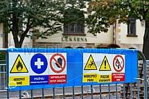 Nebezpečí, zákaz vstupu, výstraha