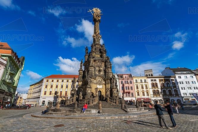 Sloup Nejsvětější Trojice, Olomouc, Unesco