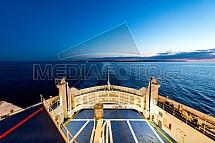Trajekt, moře, doprava, loď