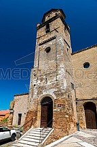Kostel San Silvestro, věž