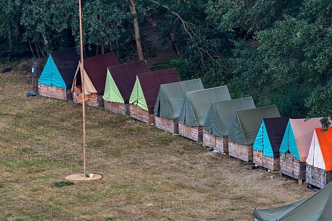 Stanový dětský tábor