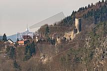 Hrad Frýdštejn a Ještěd