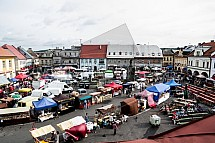 Sobotka, Jarmark, náměstí Míru