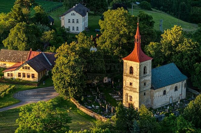Kostel svatého Jakuba Staršího, Letařovice