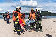 Cvičení IZS, záchranář, zranění