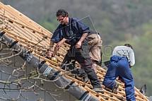 Pokrývač, tesař, střecha