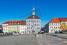 Staré náměstí, Bischofswerda, Německo