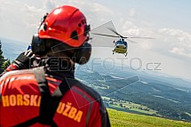 Horská služba, vrtulník, helikoptéra, Policie