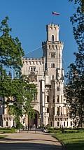 Zámek Hluboká nad Vltavou, park