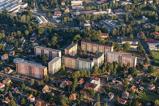 Sídliště Vesec, Liberec, letecky