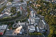 Teplárna a spalovna Liberec, Termizo, letecky
