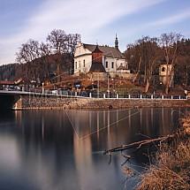 Kostel sv. Jakuba a zvonice, Železný Brod.