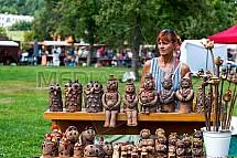 Stánek, trh, keramika, suvenýr