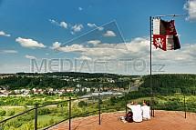 Michalovice, hrad, zřícenina, věž