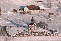 Tesařovská kaple, Kořenov, Jizerské hory, zima