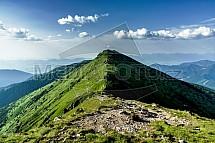 Nízké Tatry, krajina, hřeben