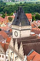 Věž staré radnice, Žižkovo náměstí, Tábor