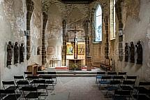 Spišský hrad, kostel, interier