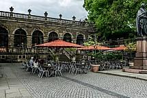 Drážďany, kavárna, Zwinger