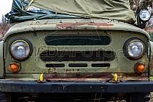 UAZ, 469, automobil, vrak