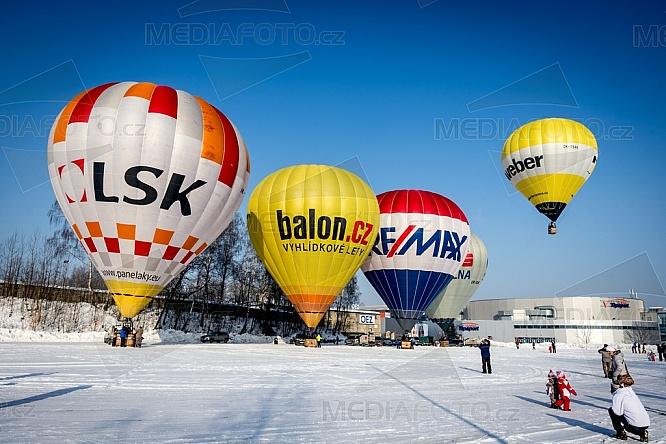 Horkovzdušný, balon, Liberec, start