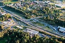 Křižovatka, Sněhulák, Liberec