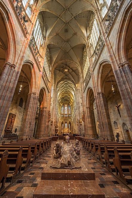 Chrám svatého Víta, interier, Praha