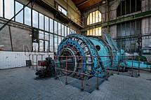 Těžní stroj, Důl Hlubina, expozice, Vítkovice
