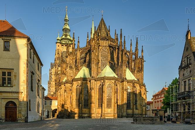Katedrála sv. Víta, Václava a Vojtěcha, náměstí U Svatého Jiří, Praha