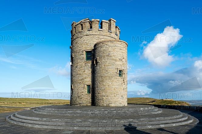 O'Brien's Tower, O'Brienova věž, Cliffs of Moher, Moherské útesy