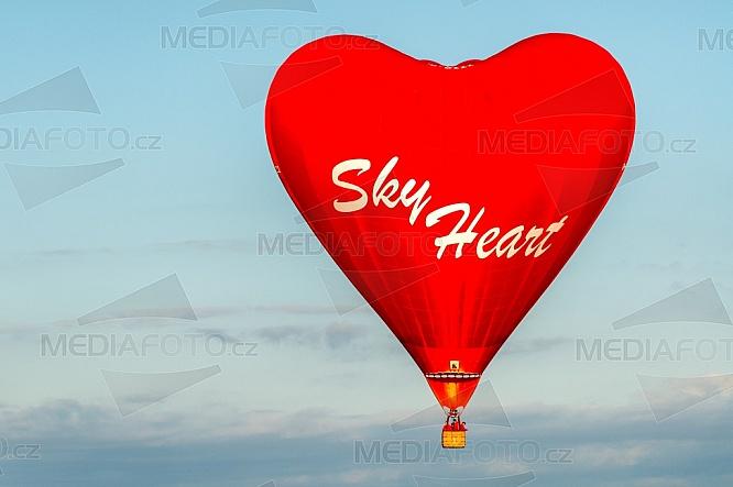 Sky Heart, Lorraine Mondial Air Balloon, horkovzdušný balón, festival