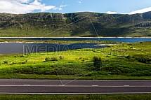 Cesta, Skotsko, údolí
