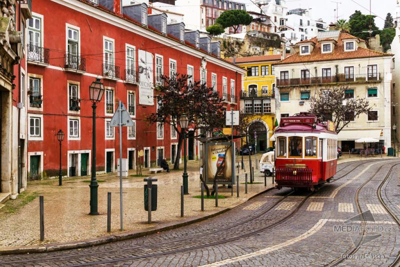 Lisabon, Portugalsko. foto: (c) Jiří Částka, www.MediaFoto.cz