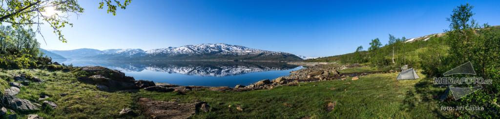 Hamlagrøvatnet, Norsko. foto: Jiří Částka, www.MediaFoto.cz