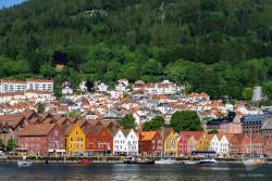 Bryggen, Bergen, Norsko.foto: Jiří Částka, www.MediaFoto.cz