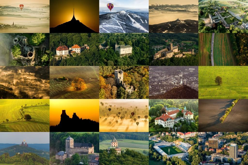 Ukázky možných fotografií pro kalendáře